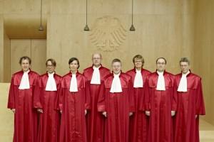 1. Senat des Bundesverfassungsgericht. Quelle: Bundesverfassungsgericht